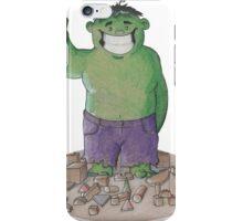 Hulk Smash Puny Blocks!!! iPhone Case/Skin
