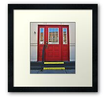 Old Timey Two-Step Framed Print
