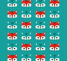 Foxy-chic / Blue by Parva-Pica