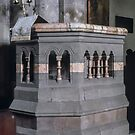 Pulpit St Thomas Church Monmouth Wales 198405180048  by Fred Mitchell