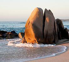 Sunrise Rock by phil decocco