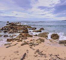 Seascape With Rocks by Jola Martysz