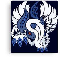 Mega Absol - Yin and Yang Evolved! Canvas Print