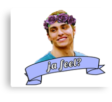 ja feel? - dave franco Canvas Print