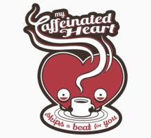 My Caffeinated Heart Kids Clothes