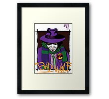 Bad Wolf #4 Framed Print