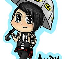 Rainy Day Andy Biersack by edgeandcorner