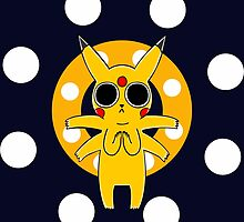 Pikachu's Trip - one circle by LameGhost