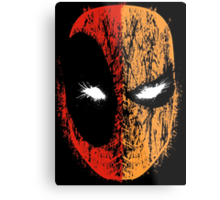 Deadpool/Deathstroke Metal Print