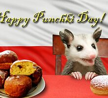 Punchki Day Opossum by jkartlife