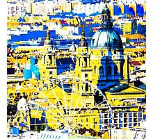 Basilica and the Eye - in colour  Photographic Print