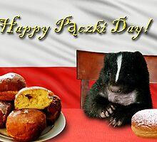 Paczki Day Skunk by jkartlife