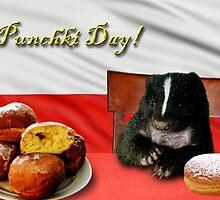 Punchki Day Skunk by jkartlife