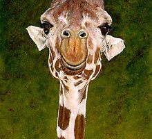 The Smiling Giraffe by Suzannah Alexander