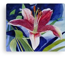 Inspiration Lily Canvas Print