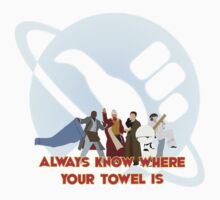 Always know where your towel is by JSKerberDesigns