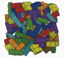 Tetris Pile Kids Clothes