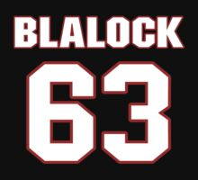 NFL Player Justin Blalock sixtythree 63 by imsport