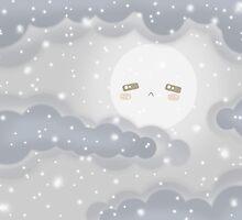 Cute Sky 12- Winter by zeecyanide
