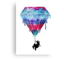 You Crazy Diamond Canvas Print