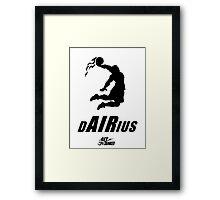 Darius DUNKED Framed Print