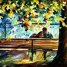 In Love — Buy Now Link - www.etsy.com/listing/184850158 by Leonid  Afremov