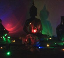 Buddha at Christmas by Dorothy Berry-Lound