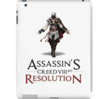 ASSASSIN'S CREED VIII BIT : RESOLUTION iPad Case/Skin