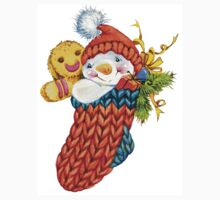 snowman. 04. New Year series Kids Clothes