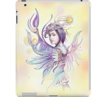 """THE CANCER""  - Protective Angel for Zodiac Sign iPad Case/Skin"