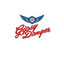Gipsy Danger colour logo Photographic Print