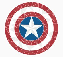 Captain America - Stylised Shield Kids Clothes