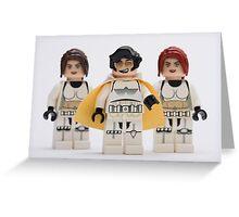 Elvis trooper with Fem-troopers Greeting Card