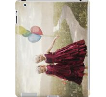 Our hearts say we're friends iPad Case/Skin