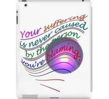 It's NOT their fault~ iPad Case/Skin
