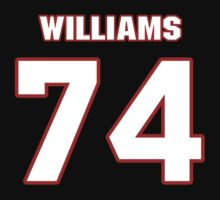 NFL Player Chris Williams seventyfour 74 by imsport