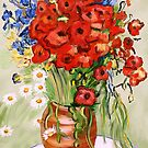 Vincent's Flowers by saleire
