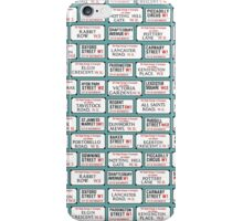 London Street signs iPhone Case/Skin