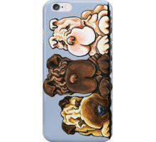 Shar Pei Trio iPhone Case/Skin