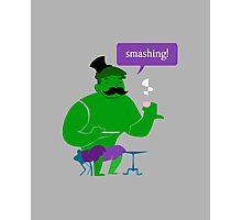 SMASHING HULK! Photographic Print