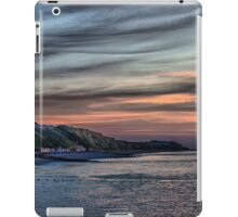 Sunset on Cromer Cliffs iPad Case/Skin