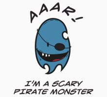 I'M A SCARY PIRATE MONSTER Kids Clothes