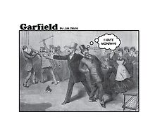 President Garfield Hates Mondays by brainthought