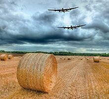 A Stormy September Evening HDR - The 2 Lancasters  by Colin J Williams Photography