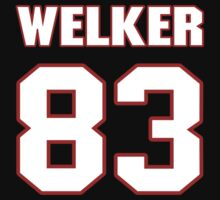 NFL Player Wes Welker eightythree 83 by imsport