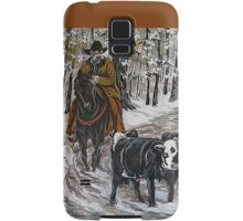 Living The Dream, Roundin' Up Yearlings Samsung Galaxy Case/Skin