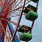 Cedar Point - Giant Wheel Cabins by SRowe Art
