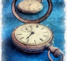 Time Watercolor by Edward Fielding