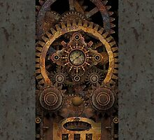 Infernal Steampunk Machine #2 Phone Cases by Steve Crompton
