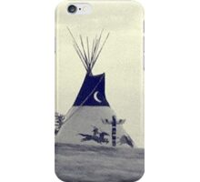 Teepee at Cherokee Trading Post iPhone Case/Skin